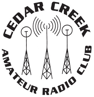 Cedar Creek Amateur Radio Club logo