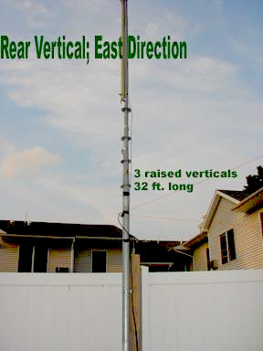 N4JTE Vertical Array - Phased Verticals on 40 Meters!