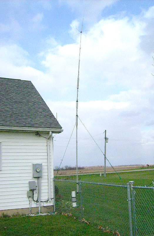 Adding 17 Meters To The Hy Gain 18avt Vertical Antenna By