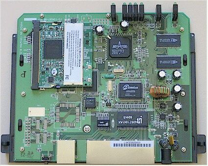Linksys internals