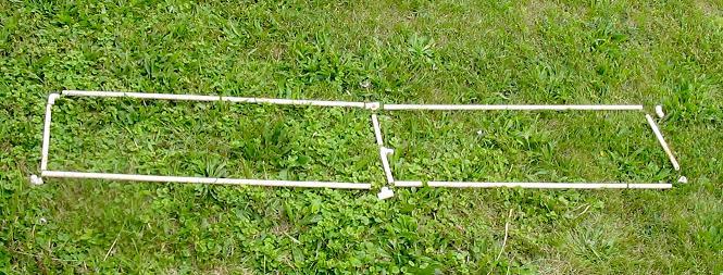 Bobtail beam layout