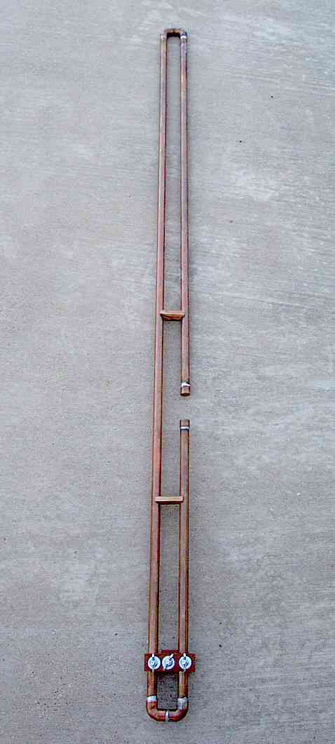 2 Meter Copper Slim Jim Antenna