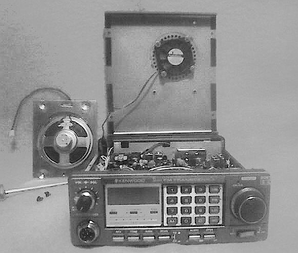 Va7fsm radio cover exposed