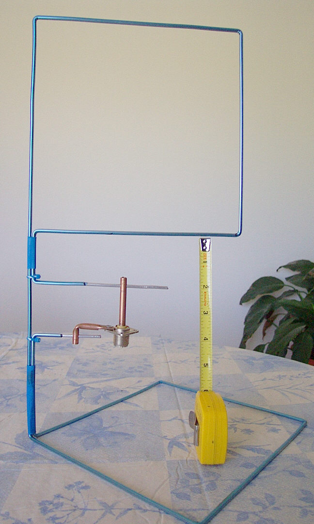 Full Wave Loop Antenna http://www.hamuniverse.com/2meterfullwaveloop.html