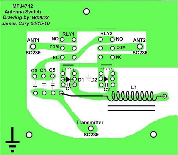 Troubleshooting and Repair of the MFJ-4712 Remote Antenna Switch